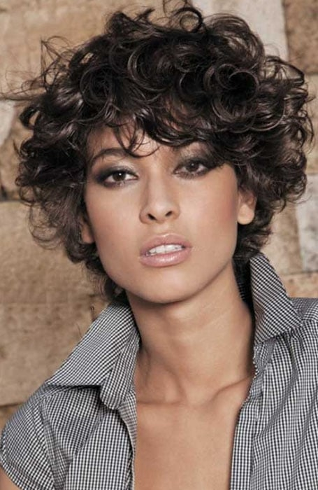 Fresh 30 easy hairstyles for short curly hair the trend spotter Curled Short Hair Styles Inspirations