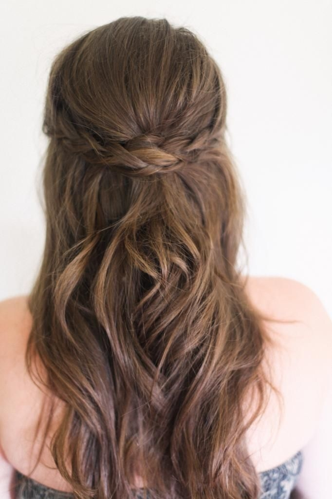 Fresh 8 hairstyles every girl should know hair styles medium Half Up Half Down Braided Hairstyles Pinterest Inspirations