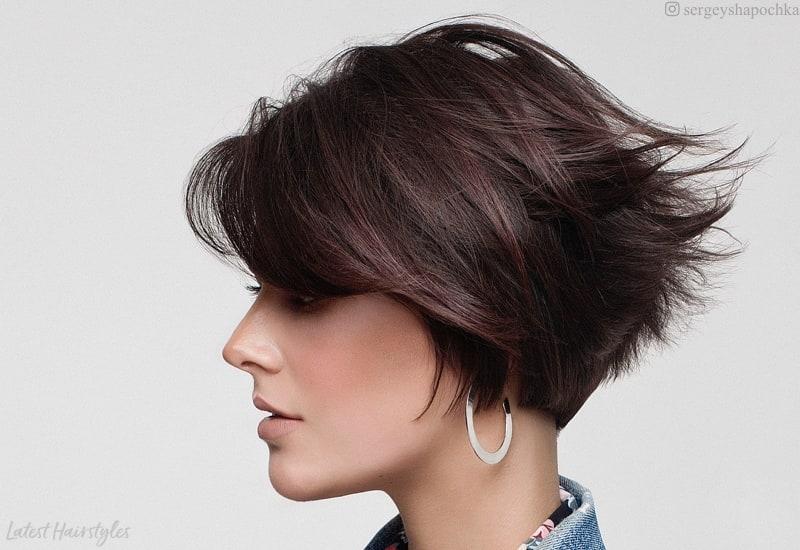 Fresh top 17 wedge haircut ideas for short thin hair in 2020 Wedge Haircuts For Short Hair Ideas