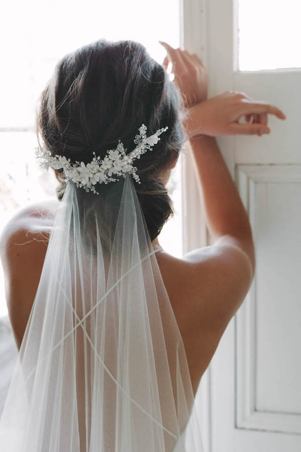 Fresh top 8 wedding hairstyles for bridal veils Short Hair Wedding Styles With Veil Ideas