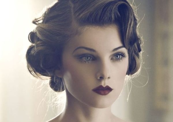 Fresh vintage hairstyles and retro hair looks for women Short Hair Vintage Style Choices