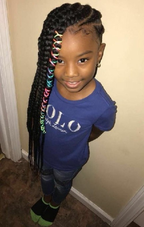 little black girls 40 braided hairstyles new natural Little Black Girls Braided Hair Styles Inspirations