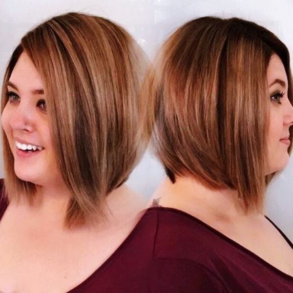 pin de miranda shell em cabelos curtos em 2020 cabelo para Short Hairstyles For Round Faces With Double Chin Ideas