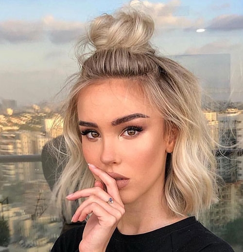 Stylish 20 ideas of cute easy hairstyles for short hair short Pretty Hair Styles For Short Hair Inspirations