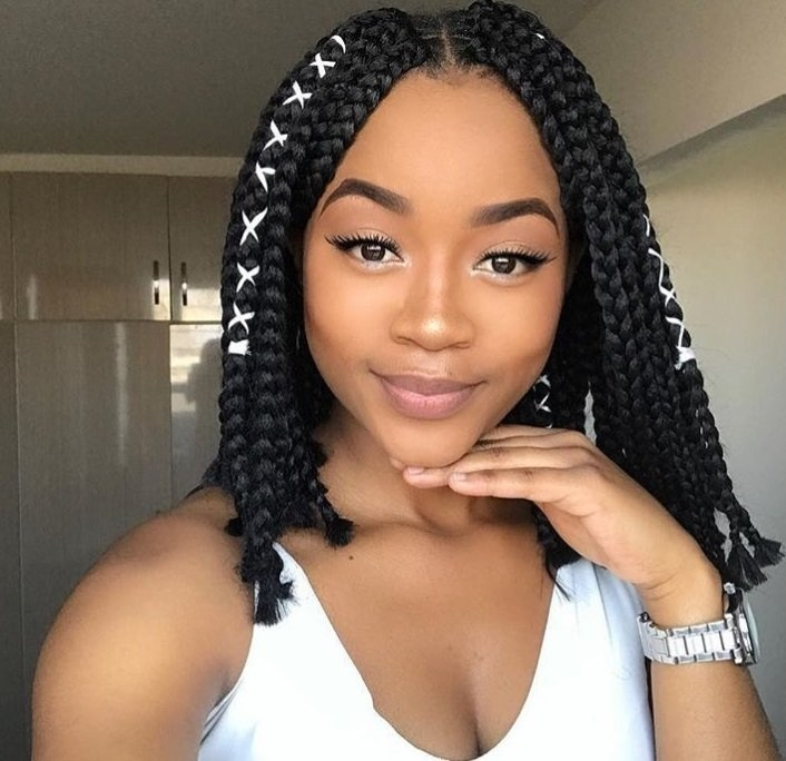 Stylish 20 trending box braids bob hairstyles for 2020 all things hair Latest Short Braiding Hairstyle Photos Inspirations