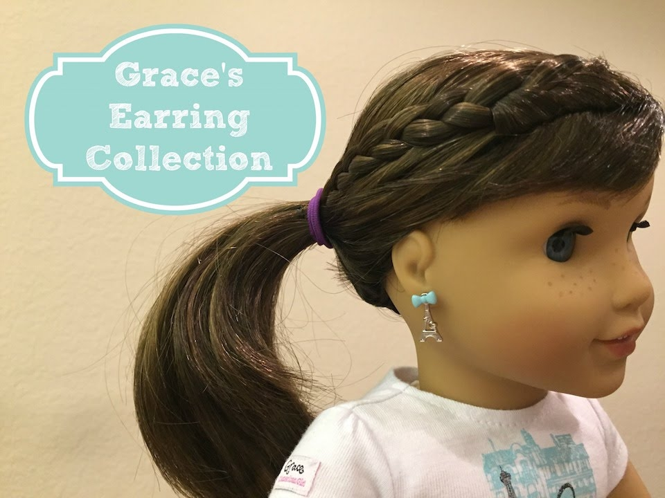 Stylish american girl grace thomas collection american girl ideas Cute Hairstyles For American Girl Doll Grace Ideas
