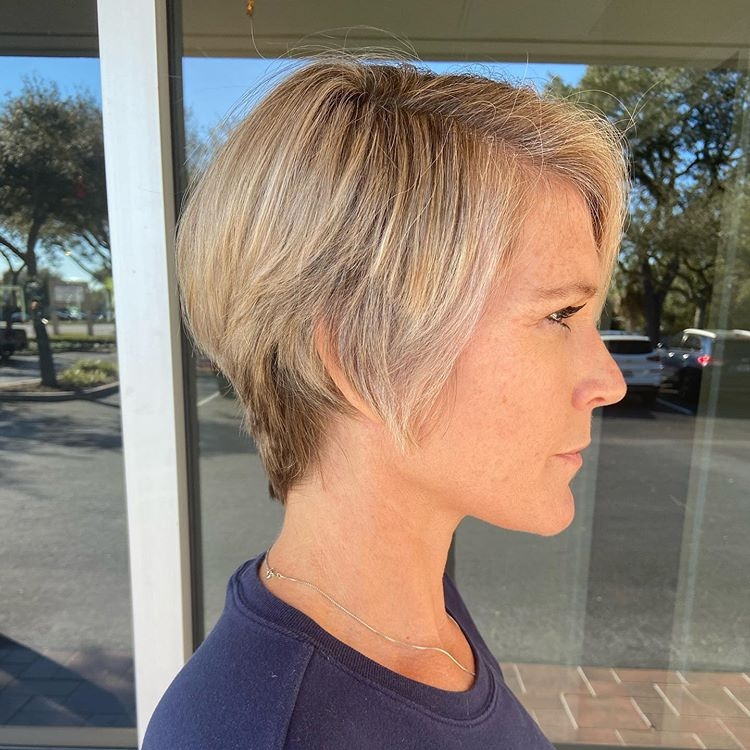 Stylish best short haircuts for women over 50 Short Hairstyles For Fifties Choices