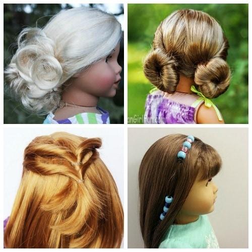 Stylish easy american girl hairstyles even little girls can do Cool Hairstyles For American Girl Dolls