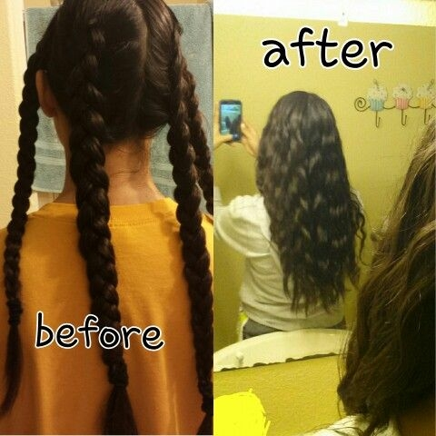 Stylish pin on hair styles Ways To Braid Your Hair Before Bed Inspirations
