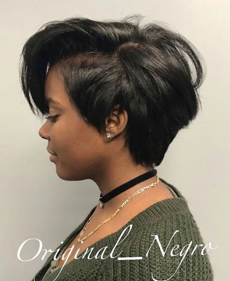 Stylish pin on short hairstyles Easy To Maintain Short Hairstyles For Black Hair Inspirations