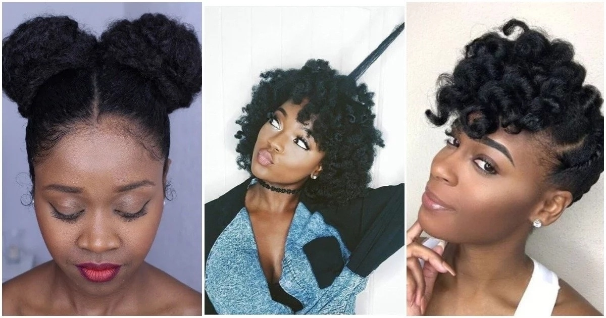 Stylish protective hairstyles for short natural hair legitng Cute Protective Hairstyles For Short Natural Hair Choices