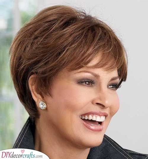Stylish short hairstyles for women over 50 25 short haircuts for Short Hair Styles For Senior Women Inspirations