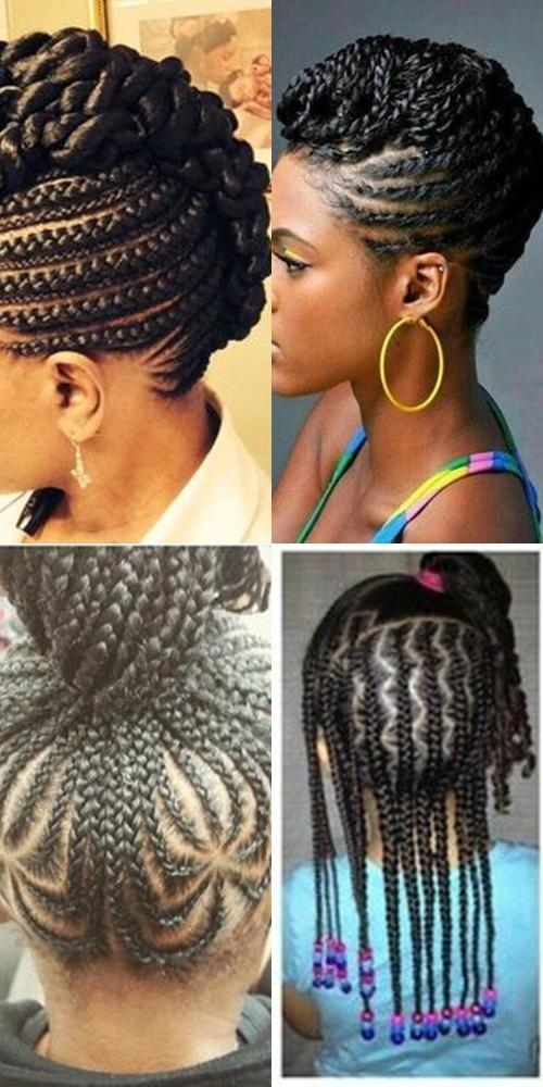 Stylish straight up braids beautified hairstyles for android apk Straight Up Braided Hairstyles Choices