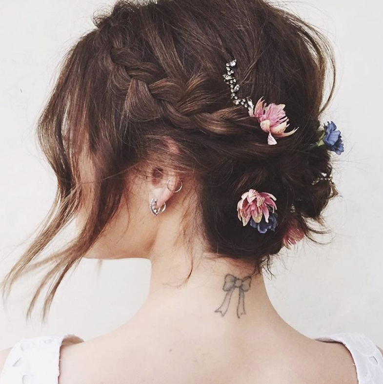 Stylish the 20 best updos for short hair glamour Up Hair Styles For Short Hair Ideas