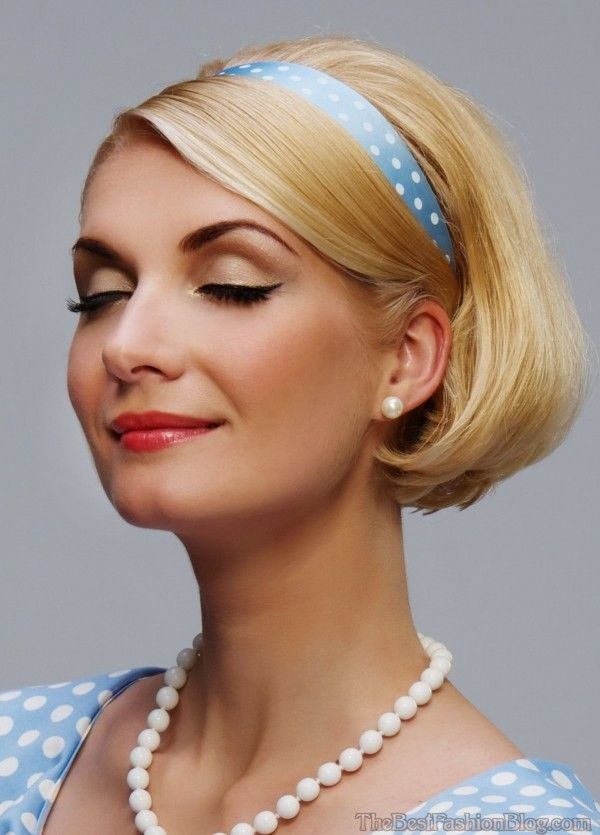 Stylish vintage hairstyle for short hair styles weekly Short Hair Vintage Style Choices