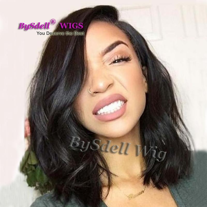 synthetic rock medium length hairstyle lace front wig african american dirty black color loose wave hair lace front wigs for black women freetress African American Medium Length Hairstyles