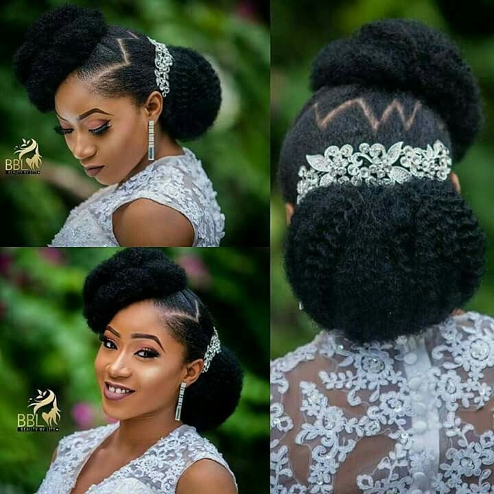 thebeautyofnaturalhairboard natural hair wedding natural Wedding Hairstyles For African American Hair