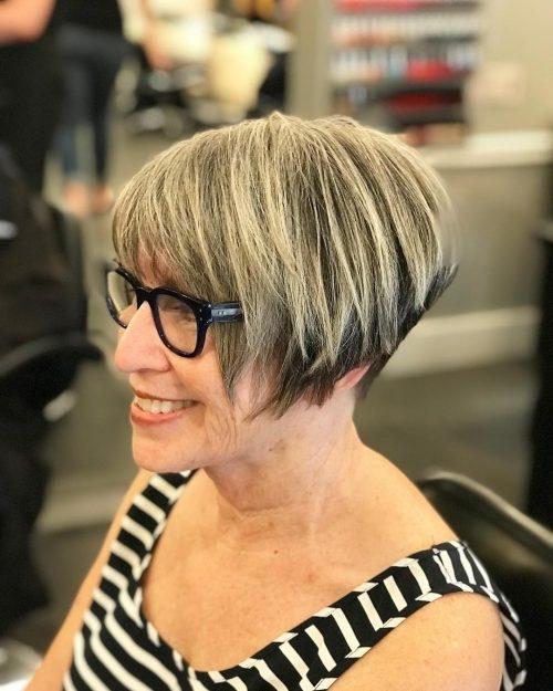 top 17 wedge haircut ideas for short thin hair in 2020 Short Wedge Haircuts Back View Ideas