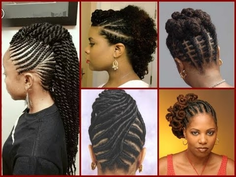 top 20 flat twist hairstyles on natural hair Twist Hairstyles For African American