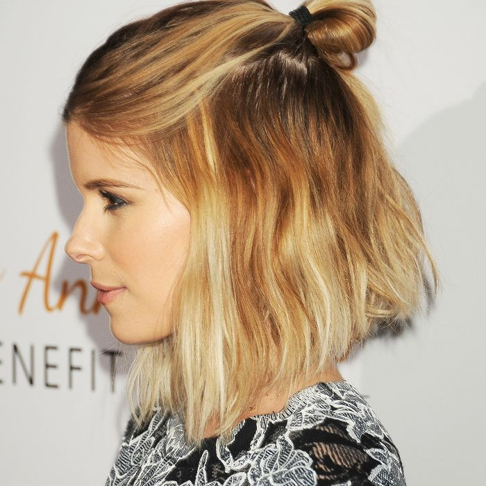 Trend 10 cool and easy buns that work for short hair Short Hair Bun Styles Choices