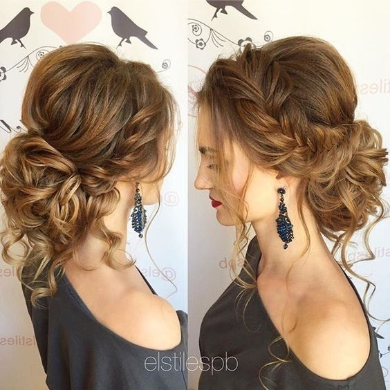 Trend 10 pretty messy updos for long hair updo hairstyles 2020 Loose Braid Updo Long Hair Choices