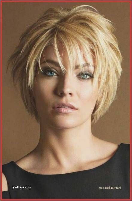 Trend 22 short hairstyles for round faces pinterest charming cool Short Layered Hairstyles For Thick Hair Pinterest Choices