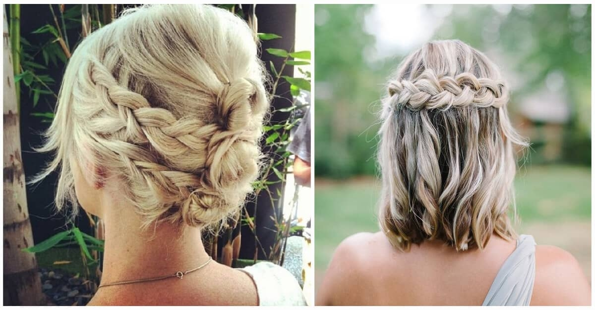 Trend 27 braid hairstyles for short hair that are simply gorgeous Easy Fishtail Braid For Short Hair Choices