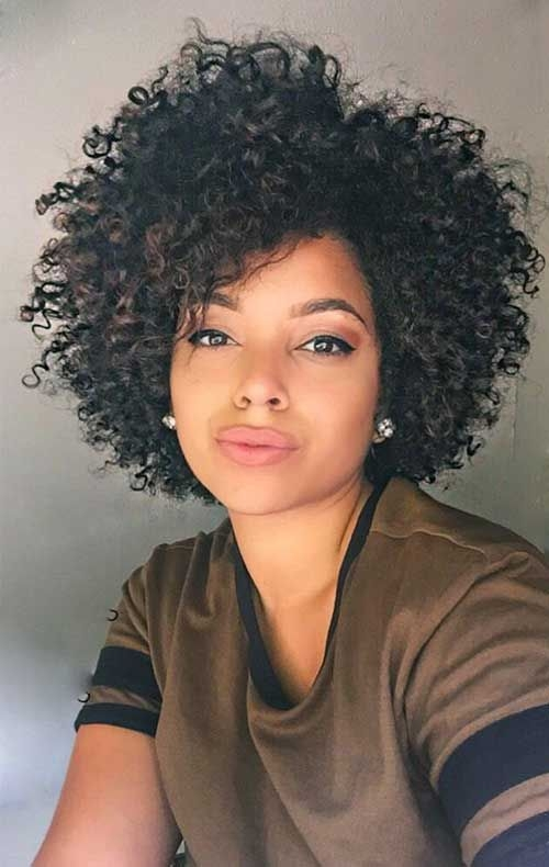 Trend 32short natural curly hairstyle 500790 pixels short Styles For Short Curly Natural Hair Inspirations