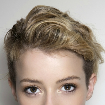Trend 5 things to do before cutting your hair short stylecaster Styling Really Short Hair Choices