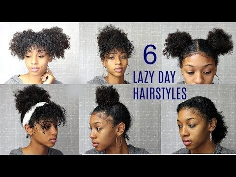 Trend 6 messy cute hairstyles for lazy days back to school Cute Hairstyles For Short Curly Hair For School Choices