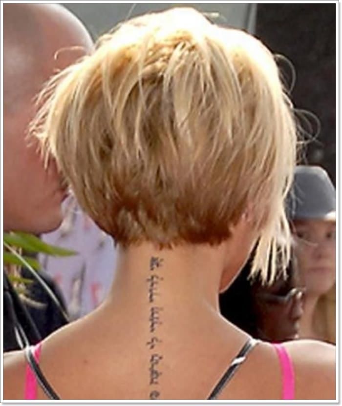 Trend 91 popular wedge haircut with a modern twist Short Wedge Haircuts Back View Ideas