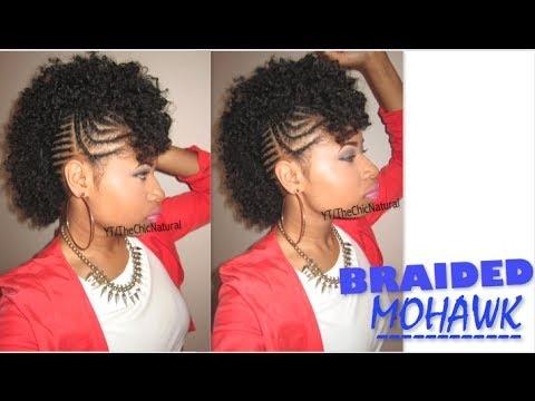 Trend bawse braided mohawk natural hair tutorial Natural Hair Styles Braided Mohawk Choices