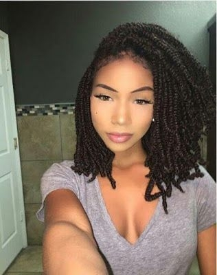 Trend cute passion twists braids hairstyles for black women to Twist Hairstyles For African American Designs