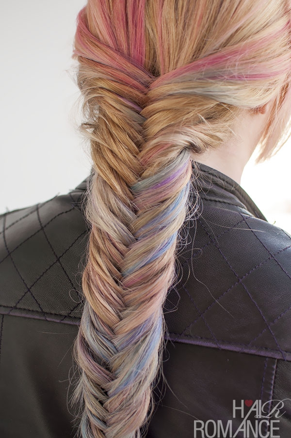 Trend hairstyle tutorial how to do a fishtail braid hair romance Fishbone Hair Braid Style Inspirations