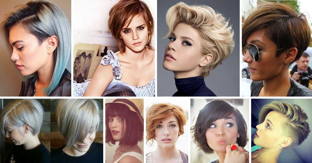Trend redefine your look with these inspired cute short haircuts Diy Haircuts For Short Hair Ideas
