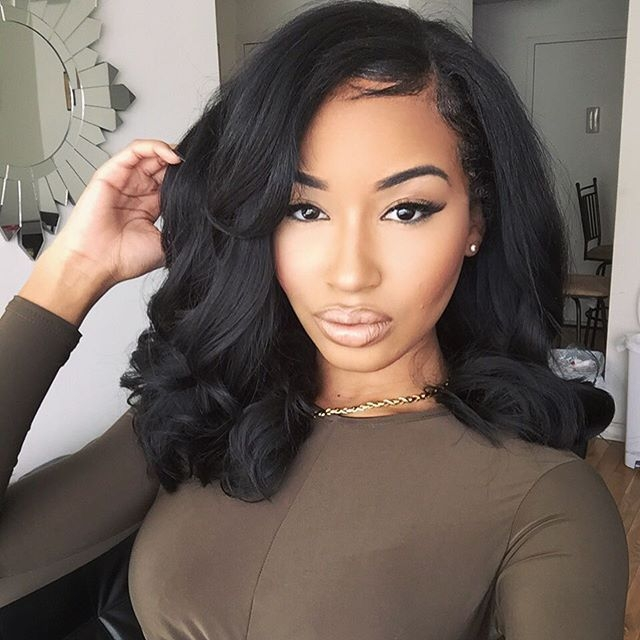 Trend sew in weave hairstyles for black women hair styles wig African American Hairstyles Weave