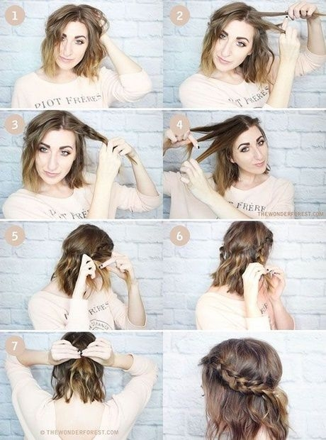 Trend simple quick hairstyles for short hair new hair styles Hairstyles At Home For Short Hair Inspirations