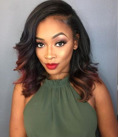 Trend stunning and quick weave hairstyles for black women African American Hairstyles Weave