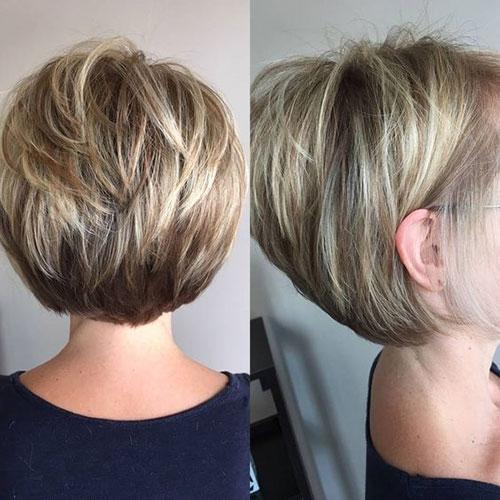 Trend stylish short stacked bob haircuts short haircut Short Haircuts Bobs Ideas