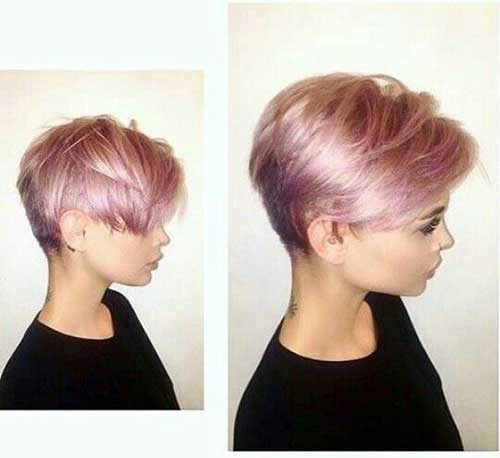 Trend tumblr style pale pink short hair colors Updos For Short Hair Tumblr Inspirations