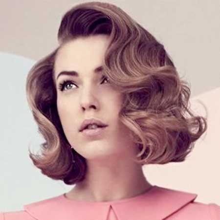 vintage hairstyles short hair mit bildern frisuren Short Hair Vintage Style Ideas