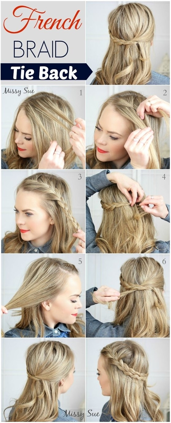 10 french braid hairstyles for long hair popular haircuts Braid Hairstyles For Long Hair Step By Step Inspirations