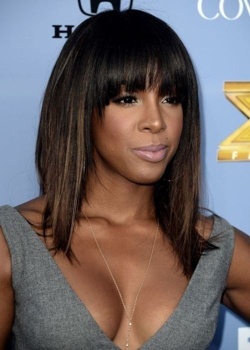 10 new black hairstyles with bangs popular haircuts hair African American Layered Hairstyles With Bangs Ideas