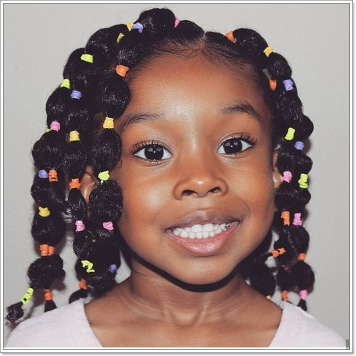 104 hairstyles for black girls that you need to try in 2019 Easy Hairstyles For Thick African American Hair Ideas