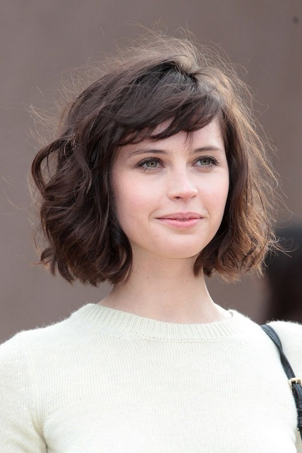 110 best layered haircuts for all hair types Short Hair With Side Swept Bangs And Layers Choices