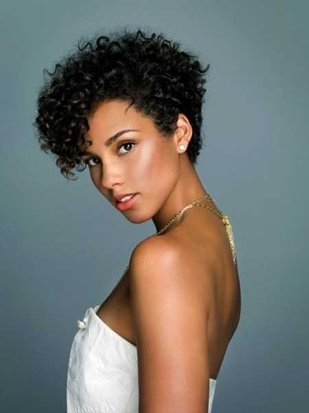 12 pretty short curly hairstyles for black women styles weekly African American Short Curly Haircuts Designs