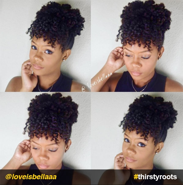 13 natural hair updo hairstyles you can create Quick Updos For Short Natural Hair Choices