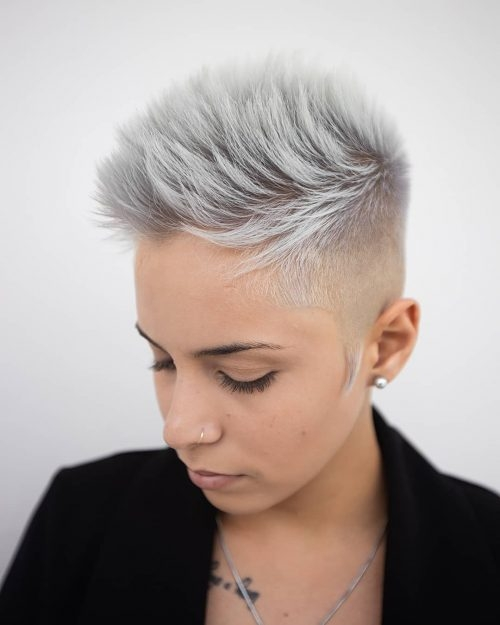 13 of the boldest short spiky hair pictures and ideas for 2020 Spiked Short Hair Styles Inspirations