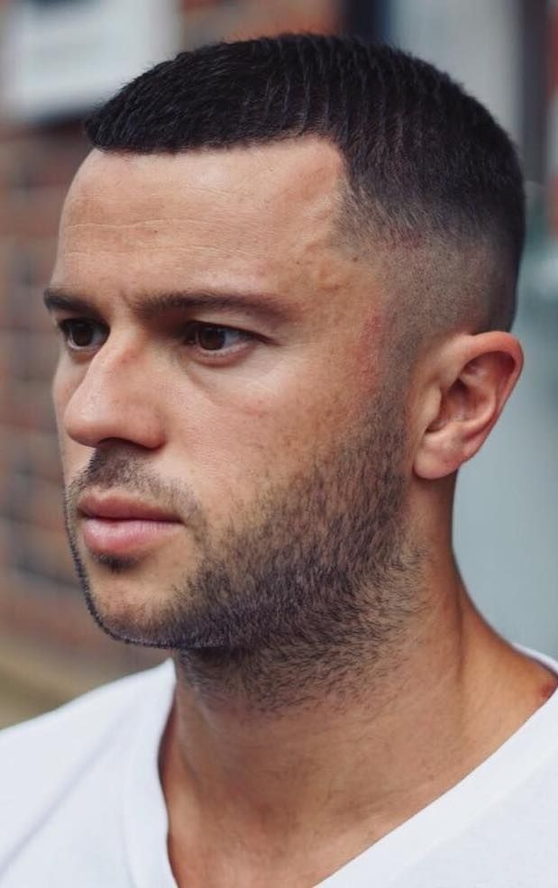 15 awesome military haircuts for men military haircuts men Short Hairstyles For Round Faces Male Choices
