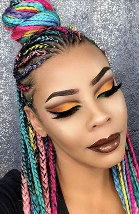 15 best yarn braid hairstyles to copy in 2020 the trend spotter Braids With Yarn Hair Styles Ideas